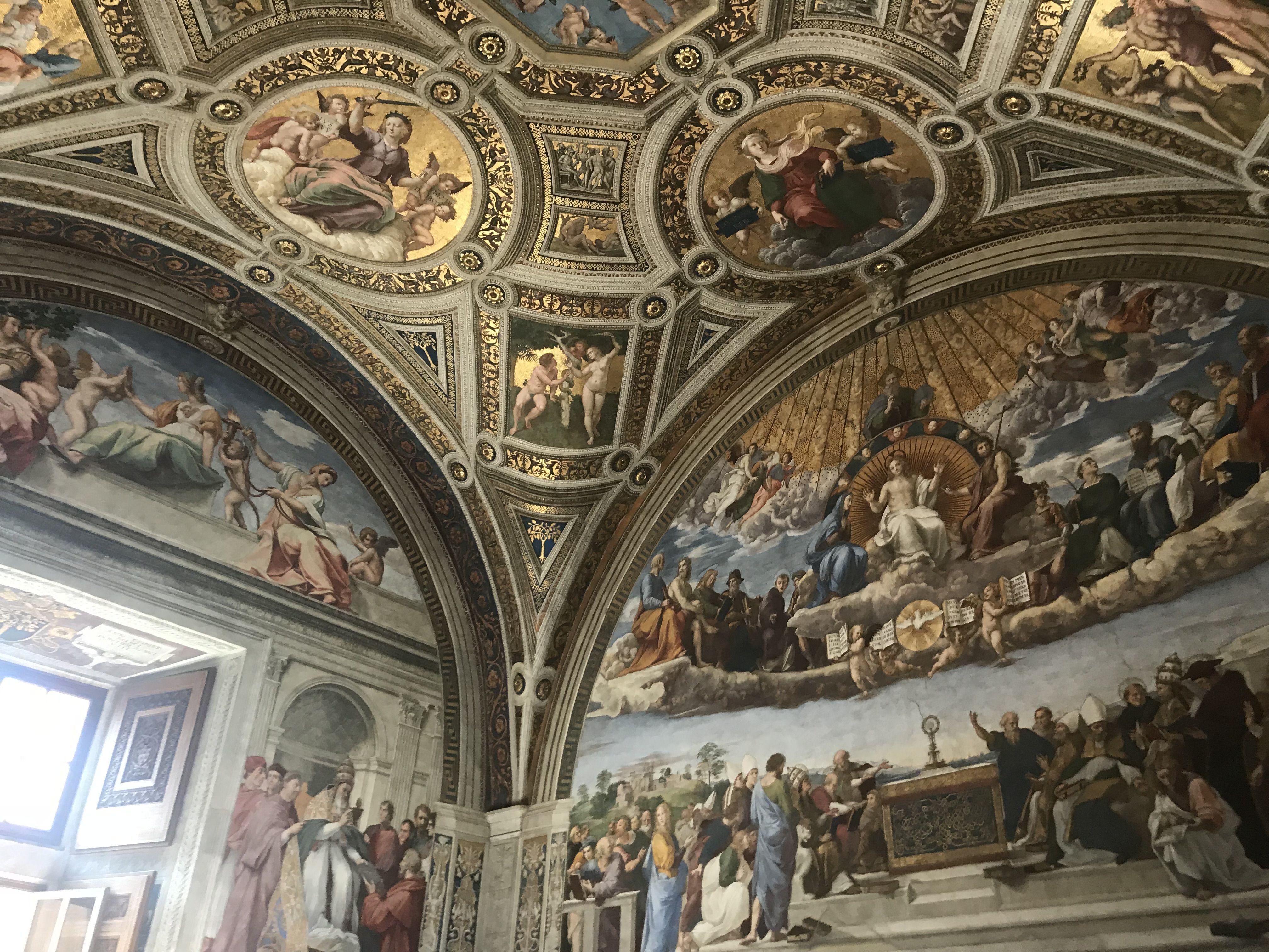 сикстинская капелла фото фресок боттичелли обоев оскал черного