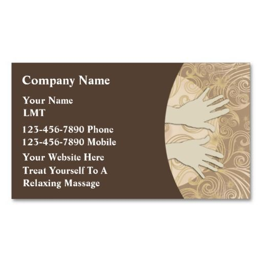 Massage business cards massage therapy pinterest massage massage business cards colourmoves