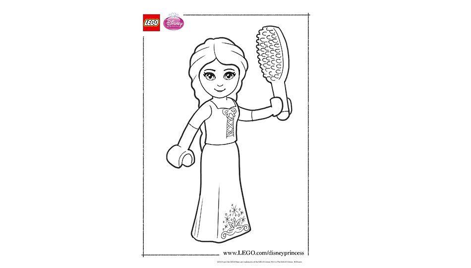Downloads Downloads Rapunzel Lego Coloring Sheet Lego Coloring Coloring Sheets