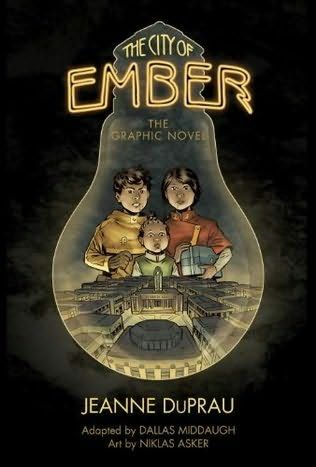 Book Cover Of The City Of Ember The Graphic Novel Ember By Jeanne Duprau City Of Ember Graphic Novel City Of Ember Book