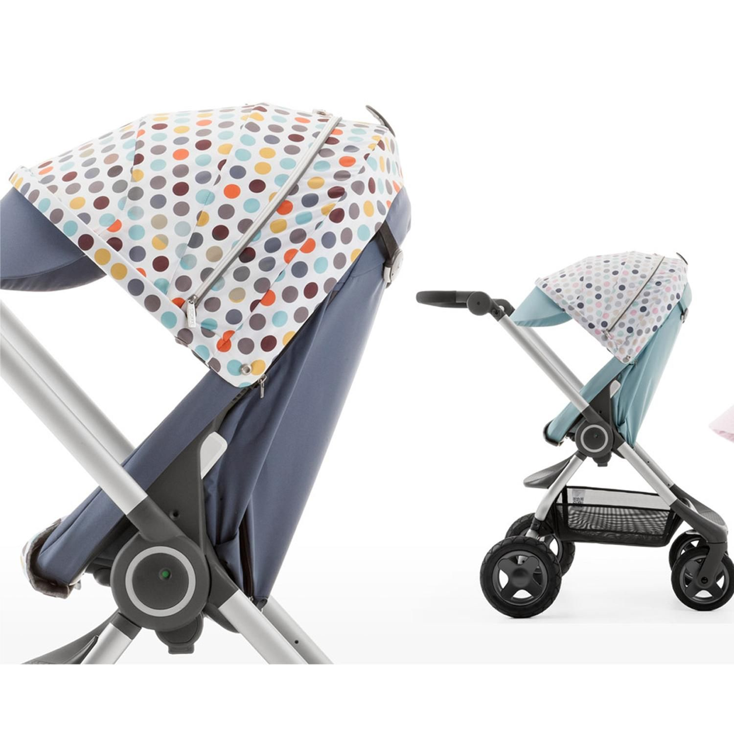 Playful Polkadots are in for Spring! Stokke Scoot with NEW