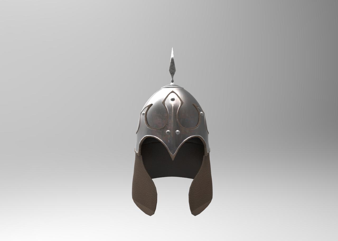 Ancient Greece Pin Spartan Helmet Silver Pendant King Leonidas Brooch