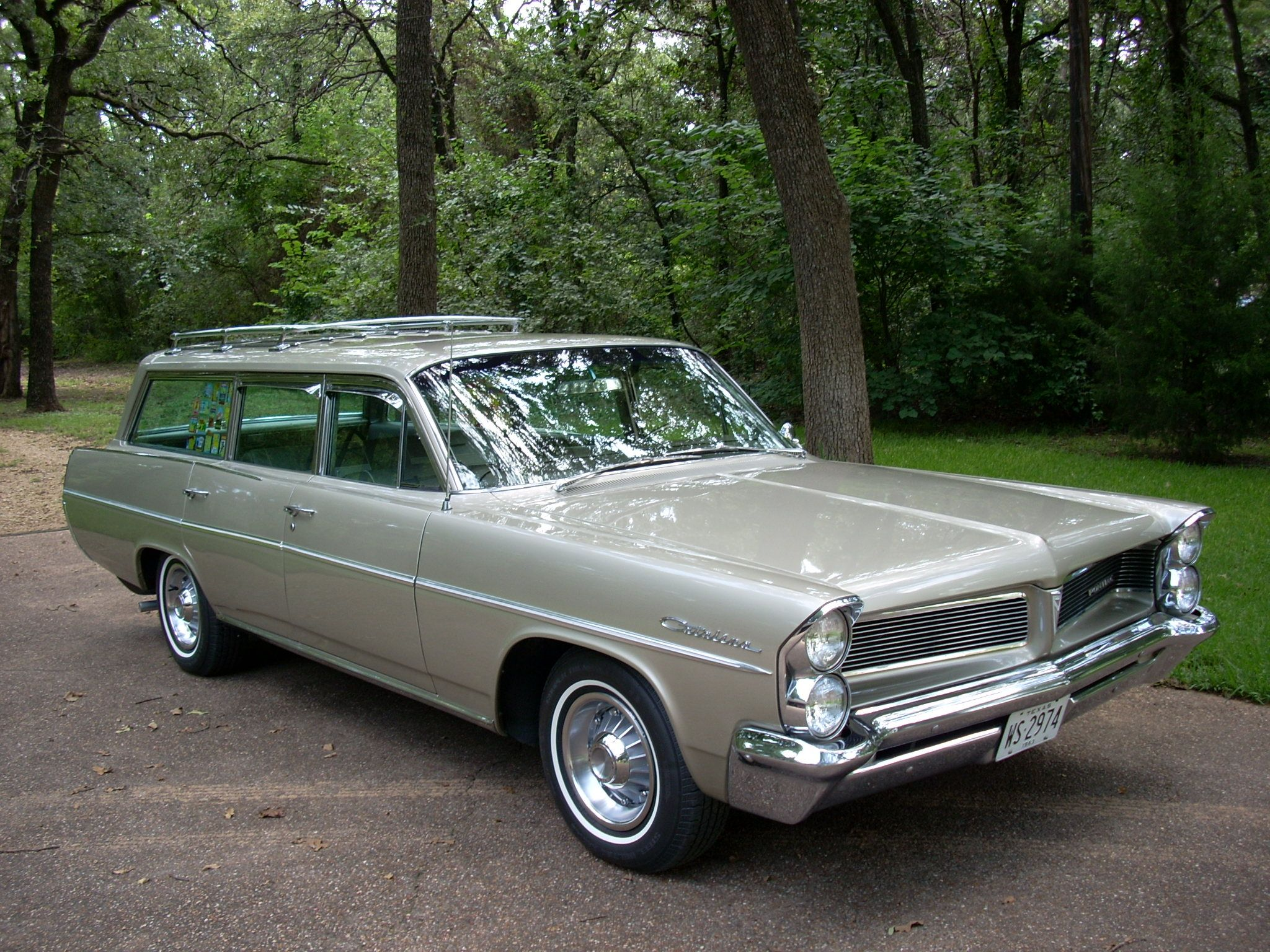 This 1967 pontiac catalina wagon has a 400ci engine air bag suspension and original paint jalopy pinterest pontiac catalina station wagon and