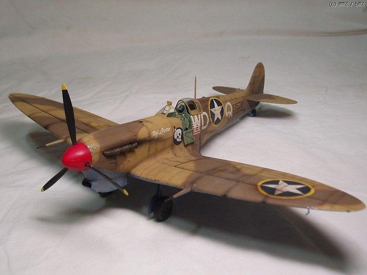 MMZ - HASEGAWA 1/32 Spitfire Mk. Vb Trop 'USAAF'
