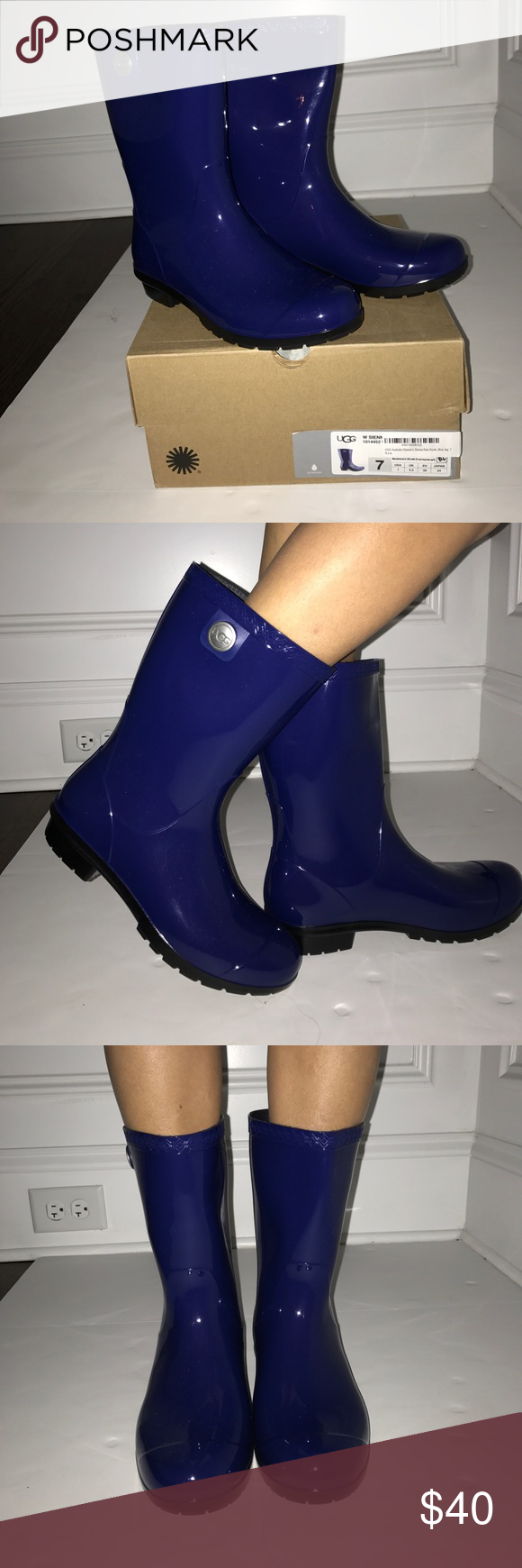454d79847a4 UGG Sienna Rain Boot 100% Authentic UGG Sienna Rain Boot in the ...