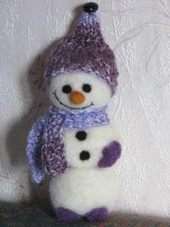 Творчество: Av marknaden gjorde mig glada jultomtar och snögub... handmade . felts. toys