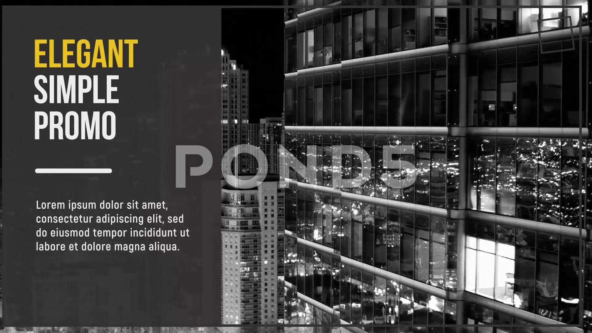 Elegant simple slideshow Stock After Effects,#simple#Elegant