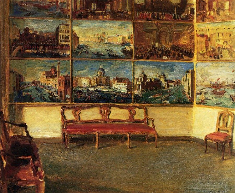 Walter Gay   Palazzo Quirini Stampaglio    Oil On Canvas    Nd