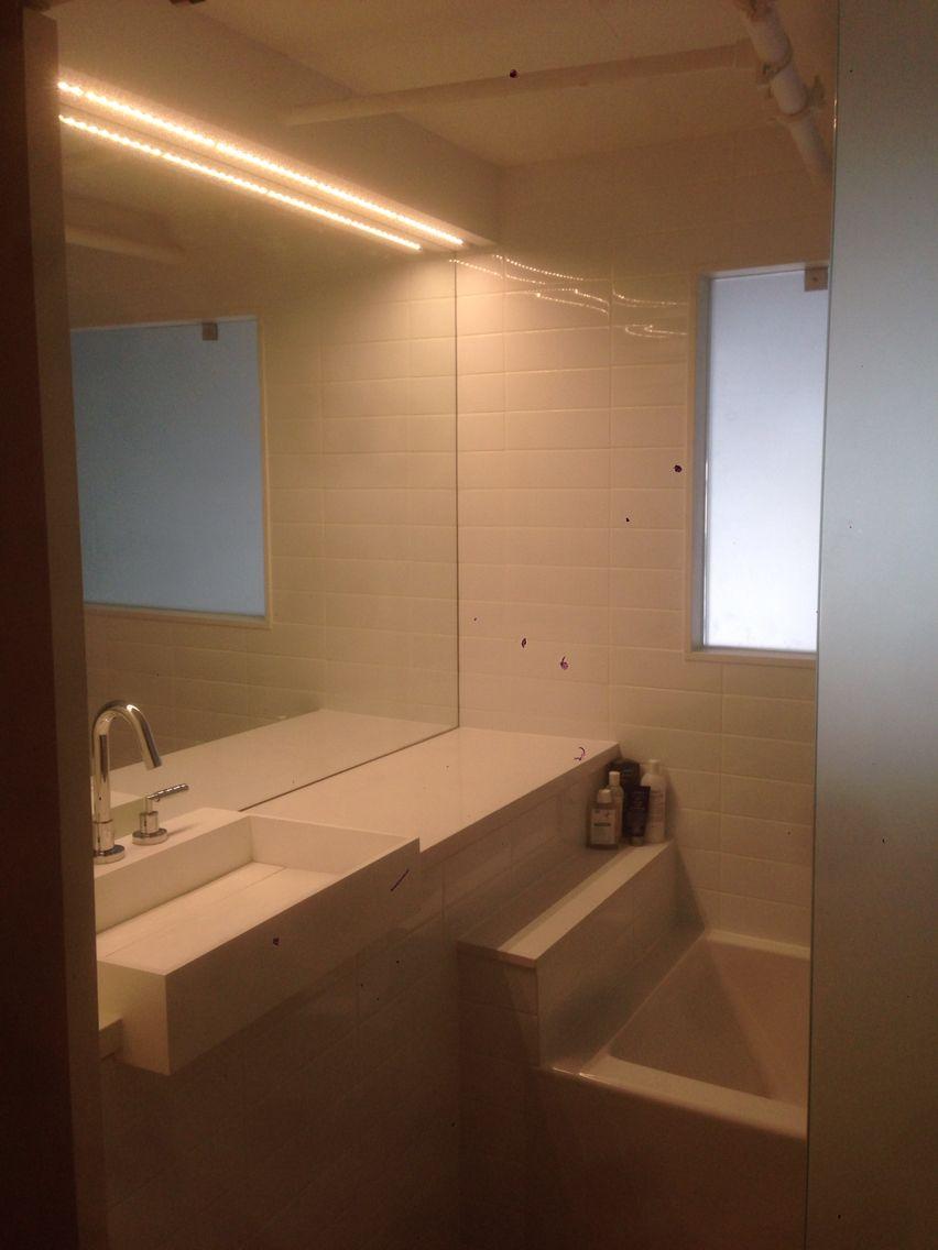 custom bathroom lighting. Master Bedroom Custom Closets/Bathroom Light Valance With LED Lighting Bathroom M