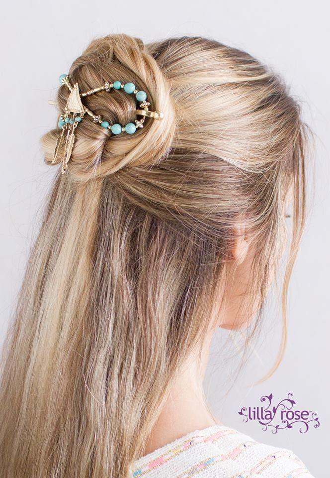 Love the Lilla Rose flexi clip! So pretty and super-comfy!!!  http://coastalconservatory.com/beautiful-hair-in-seconds/