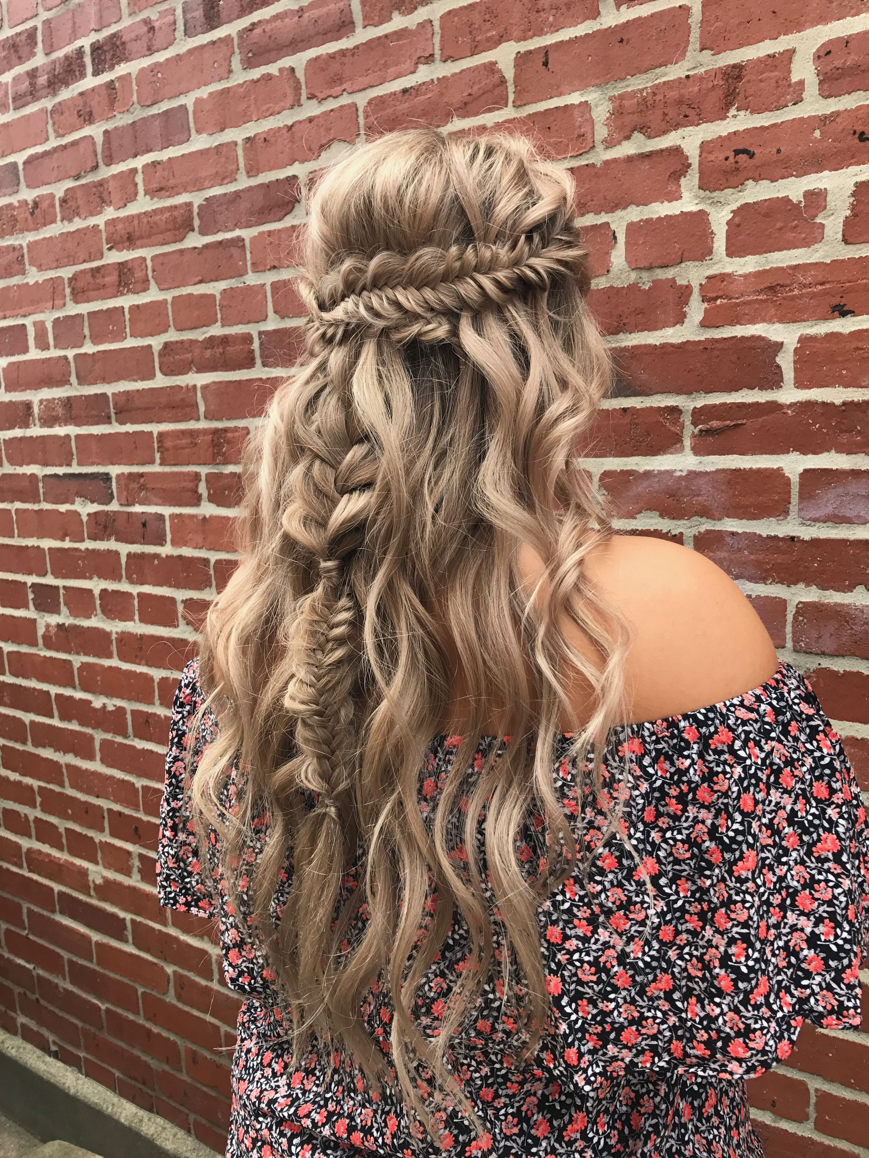 Full hd beach hair of iphone braided wedding fishtail boho bohemian braid