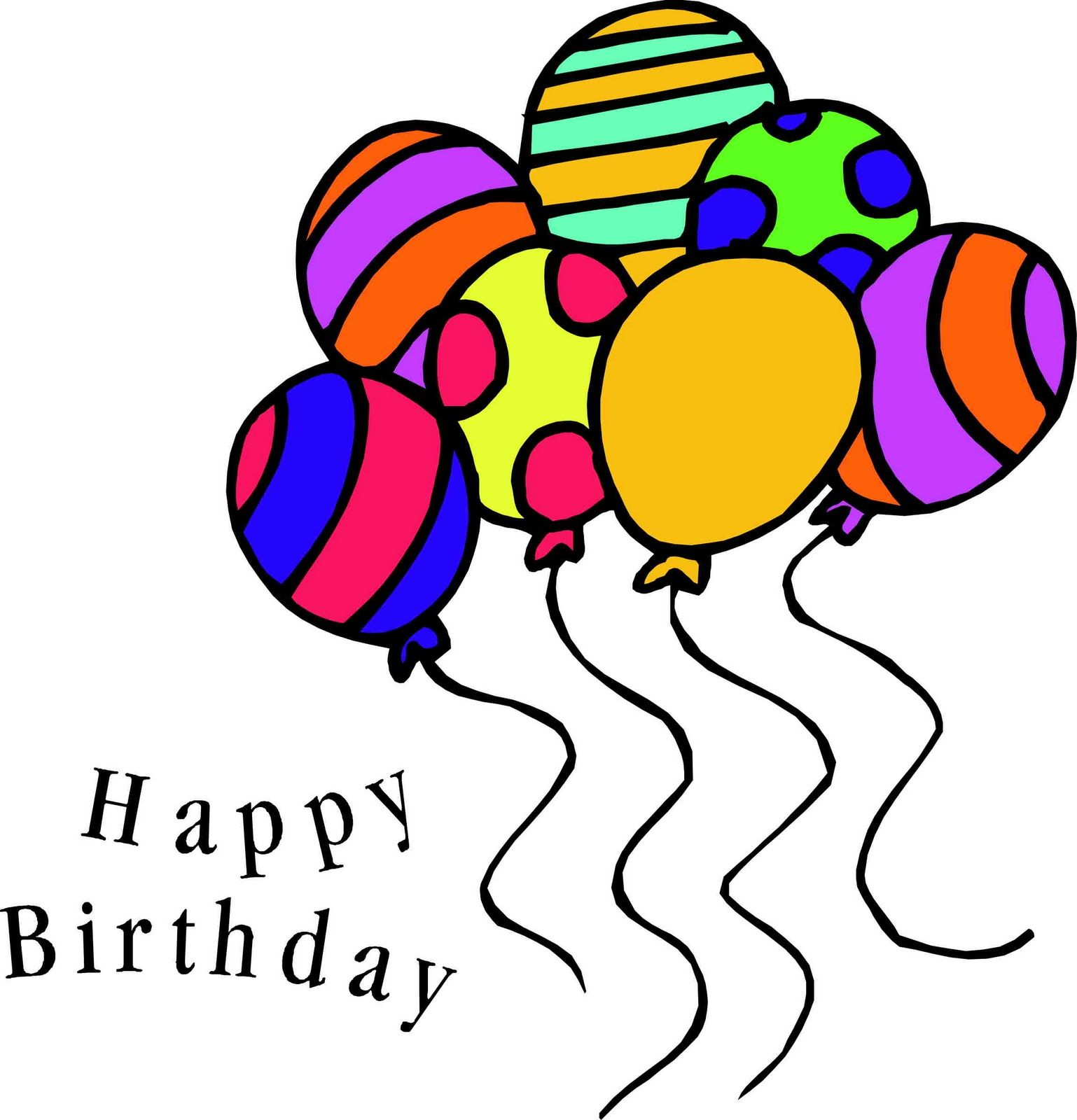Free Birthday Free Happy Birthday Balloon Clip Art 2 Happy Birthday Clip Art Free Birthday Stuff Happy Birthday Balloons