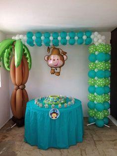 Centros De Mesa Economicos Para Baby Shower De Niño   Buscar Con Google