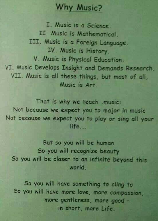 By R Daniel Mooney Who Wrote This In The 1960 S Published In The Ny State Musician Journal Music Education Teaching Music Music Theory