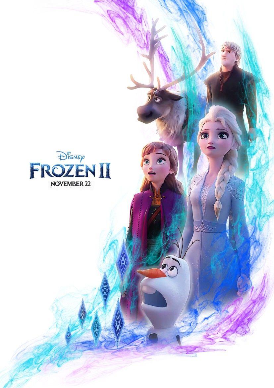Frozen 2 Poster Fan Made Poster Kartun Disney Animasi Disney Kartun