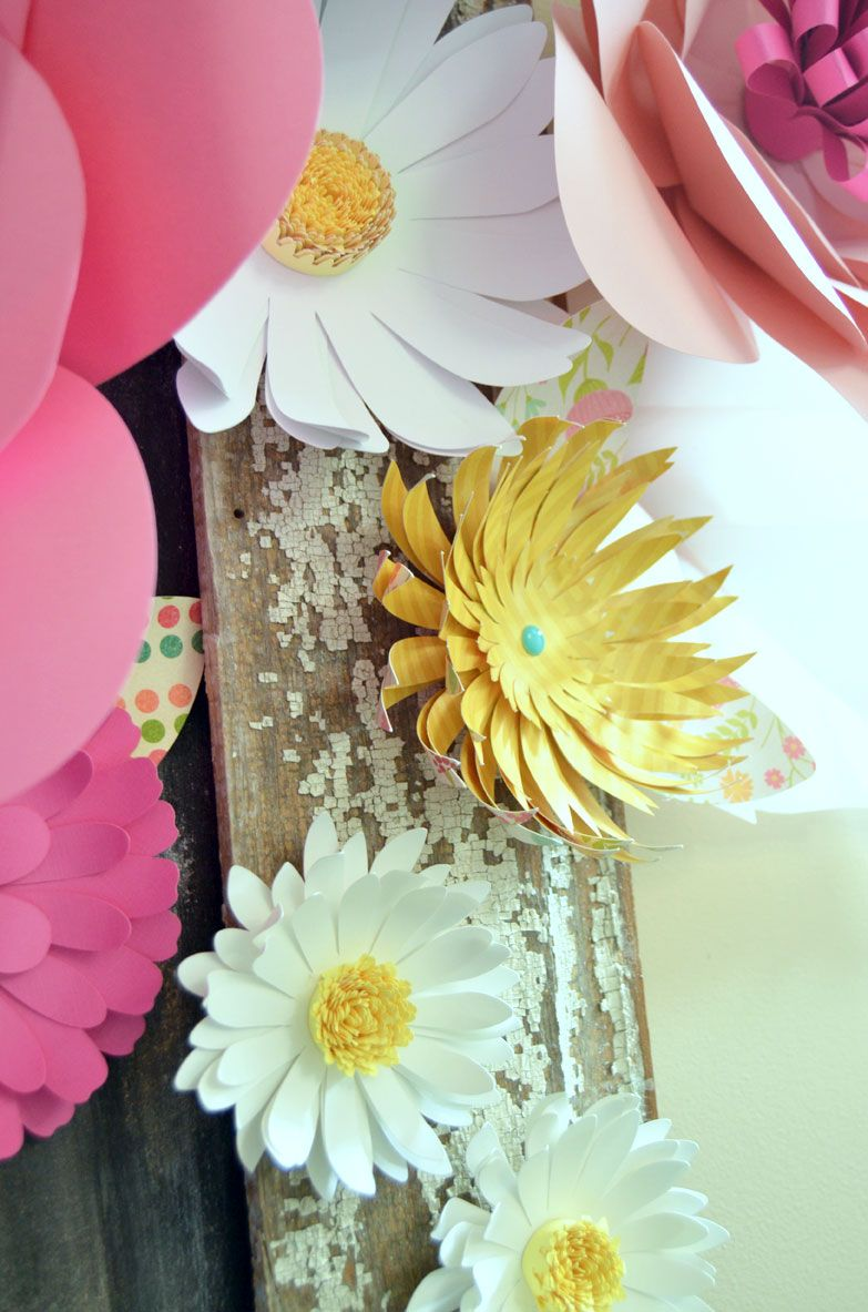 How To Make Huge Paper Flowers Pinterest