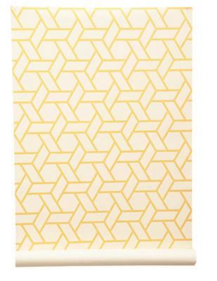 wallpaper. manuel canovas trellis. Yellow wallpaper
