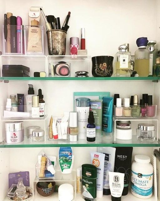 Acrylic Risers Bathroom Organisation Bathroom Cabinet