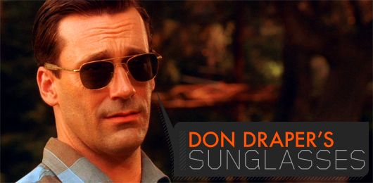 Don SunglassesIconic Don Draper Draper's Sunglasses Draper's SunglassesIconic Sunglasses Draper Don lcF1KT3J