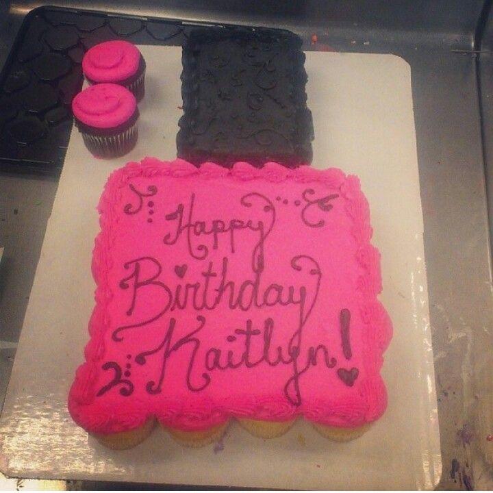 Cake Nail Polish Designs: Spa Party, Cake