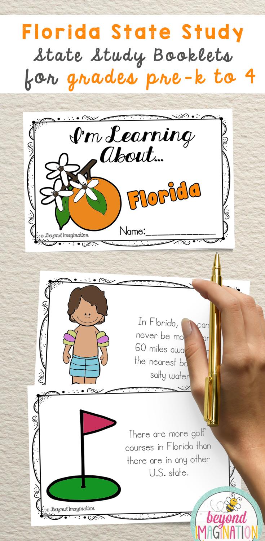 Florida State Study Kindergarten Special Education History Curriculum Preschool Units