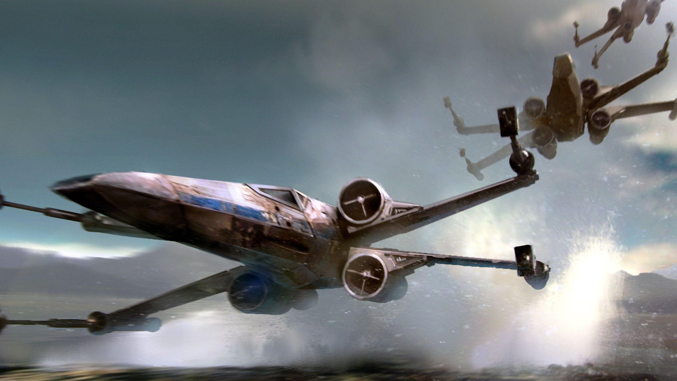 Xwing 2560 X 1440 Px Star Wars Concept Art Star Wars Wallpaper Star Wars Fan Art