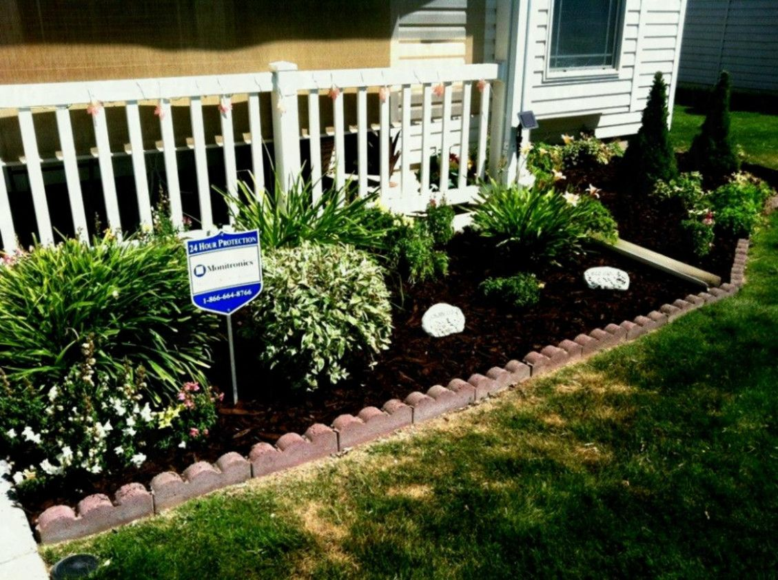 Simple Front Yard Landscaping Ideas Design In Front Yard Flower