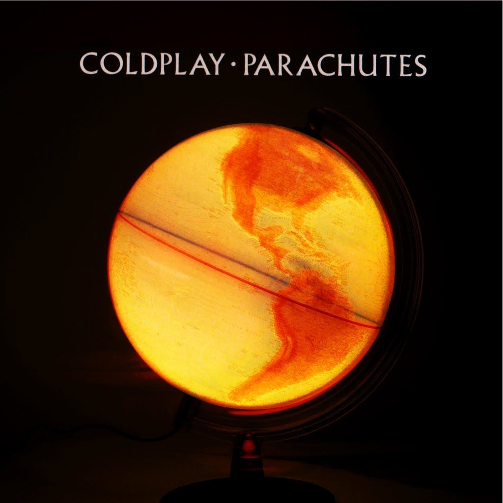 Coldplay Album Cover | Parachutes - if you haven't liten to shiver