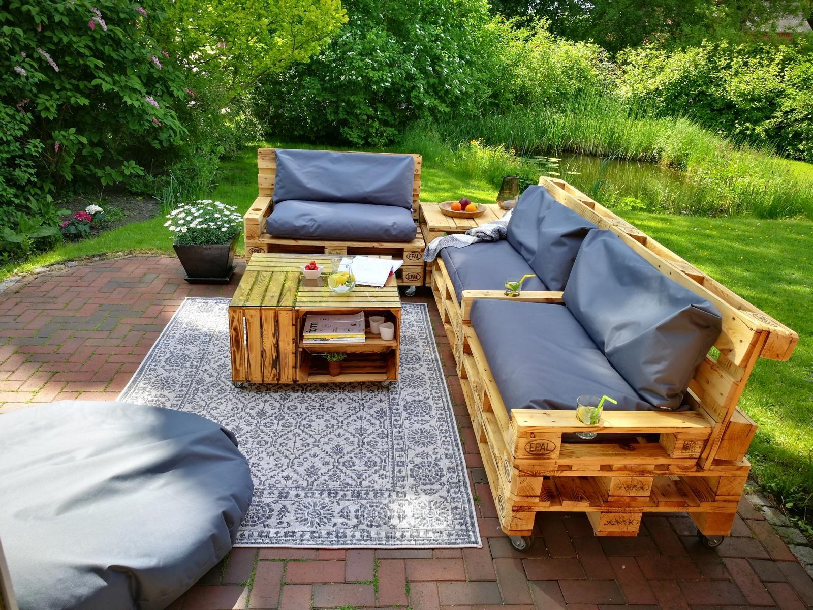 ᐅ Gartenmöbel Aus Paletten Diy Tipps Palettenmöbel Shop Palettenmöbel Garten Gartenmöbel Aus Europaletten Gartenmöbel Aus Paletten