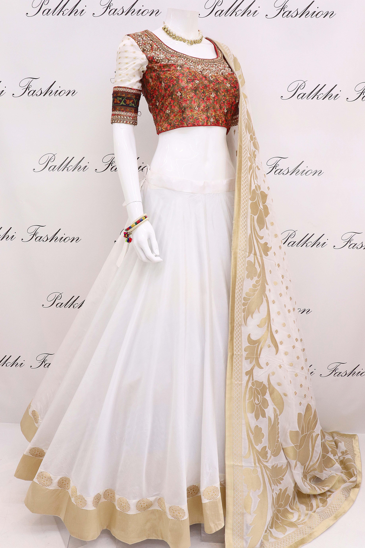 5545428f25 Elegant Full Flair Chaniya Choli With Hand Work Blouse & Georgette Dupatta