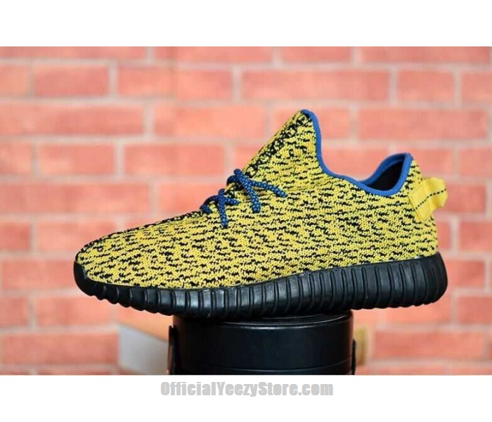 27d417c79 Fake Yeezy Boost Yellow Black Comfortable Dress Shoes for Men Women - Shoes  Offer
