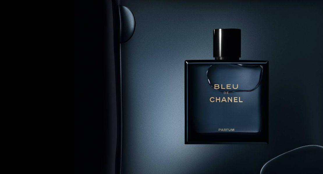 De blue perfume chanel map