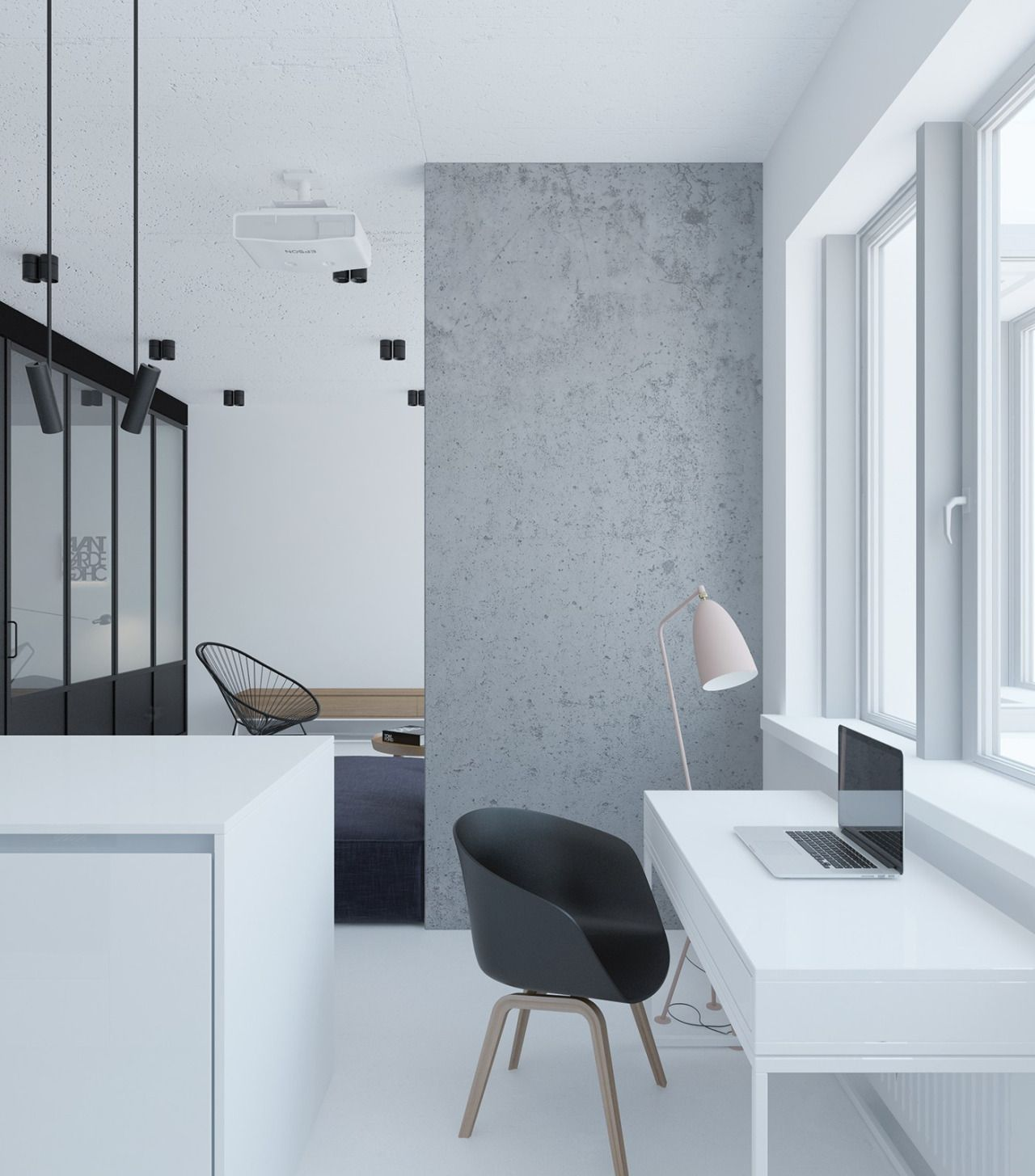 """homedesigning: """" (via Modern Minimal Homes To Inspire You) """""""