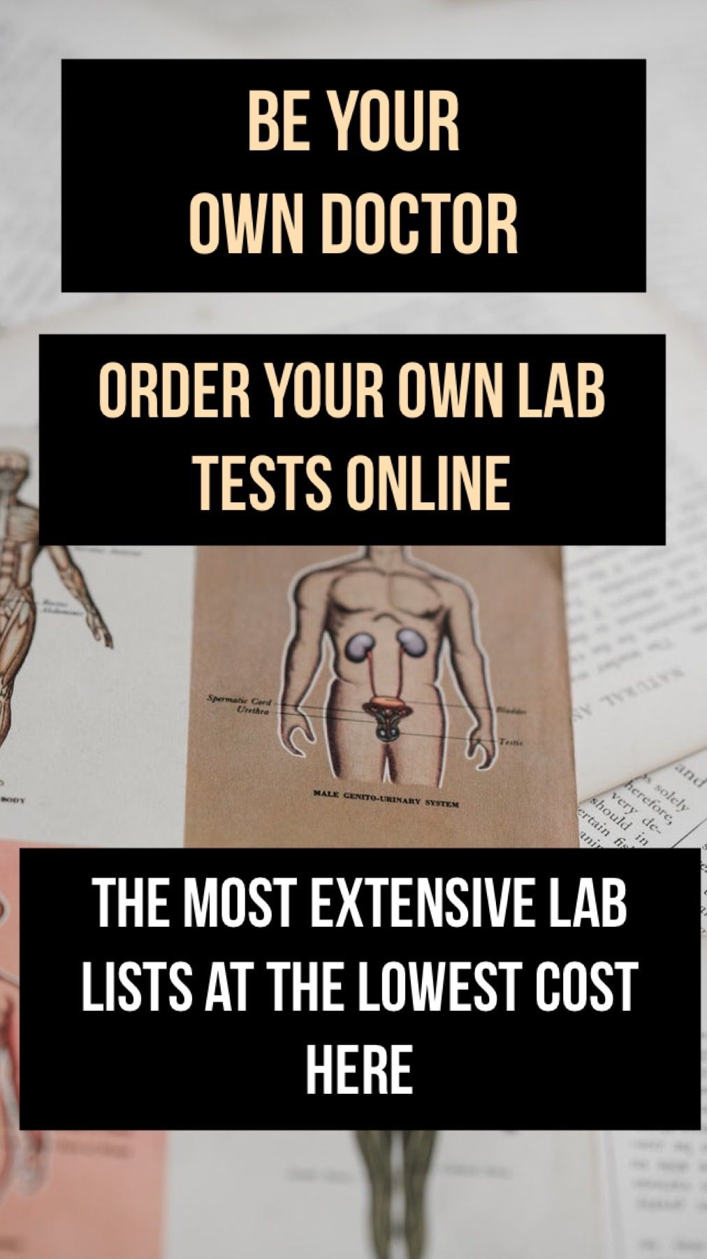 A lab tech explains the benefits of ordering lab tests