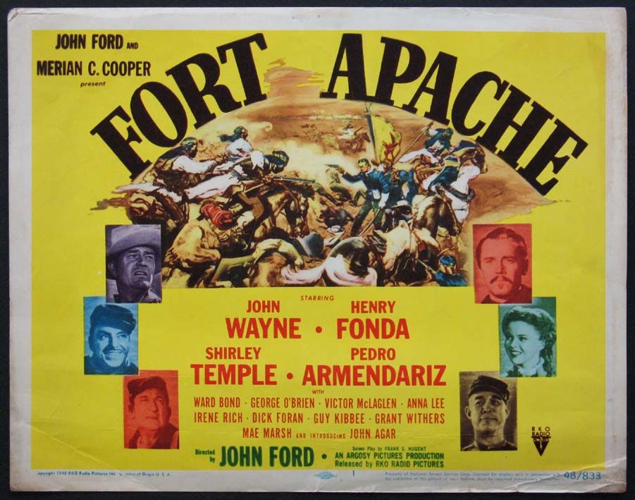 Western Movie Posters | FORT APACHE Movie Poster (1948) || WESTERN ...