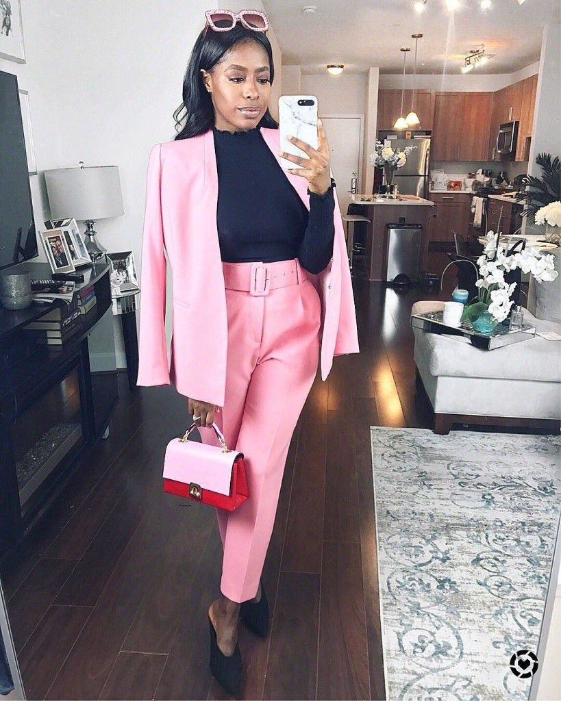 60ce6fb718 Blogger Favorites: The pink Zara suit | Fashion Blogger Group Board ...