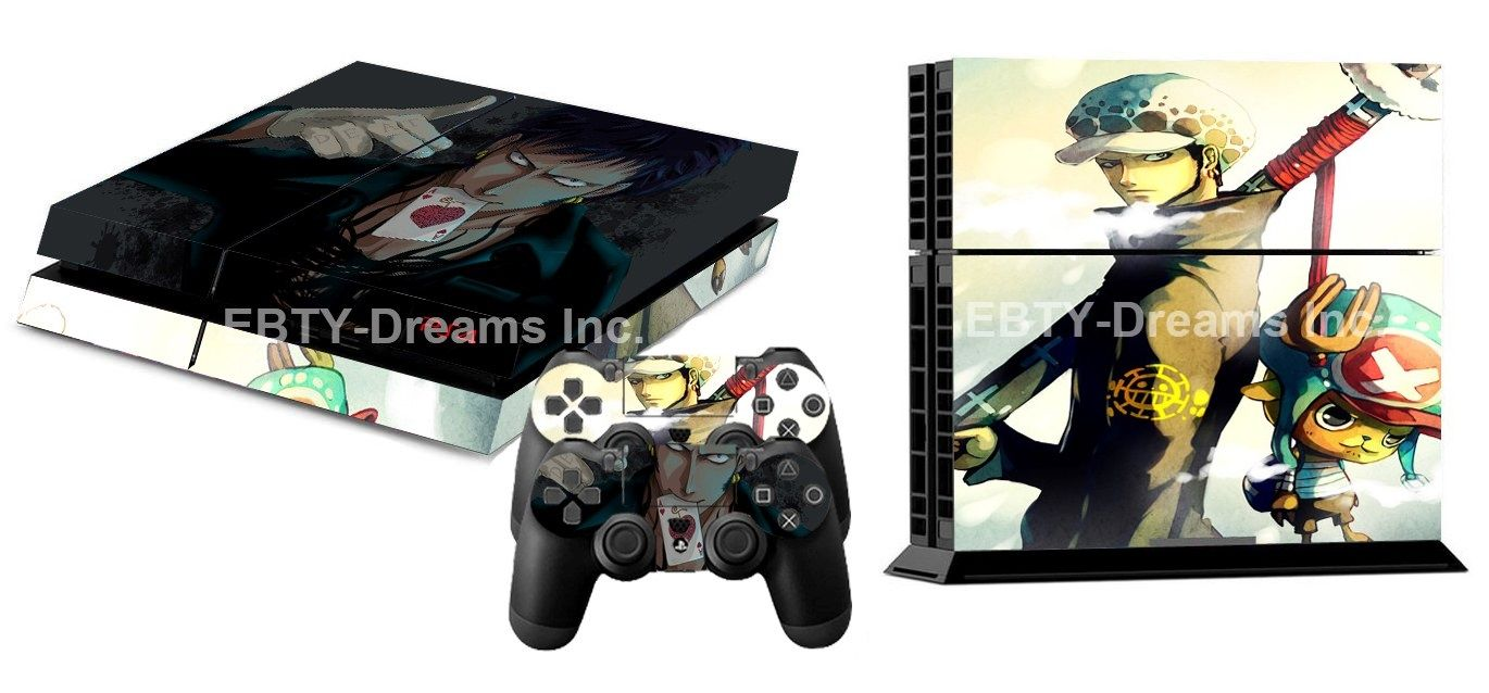 Anime One Piece PS4 Skin Sticker Decal Vinyl for Sony