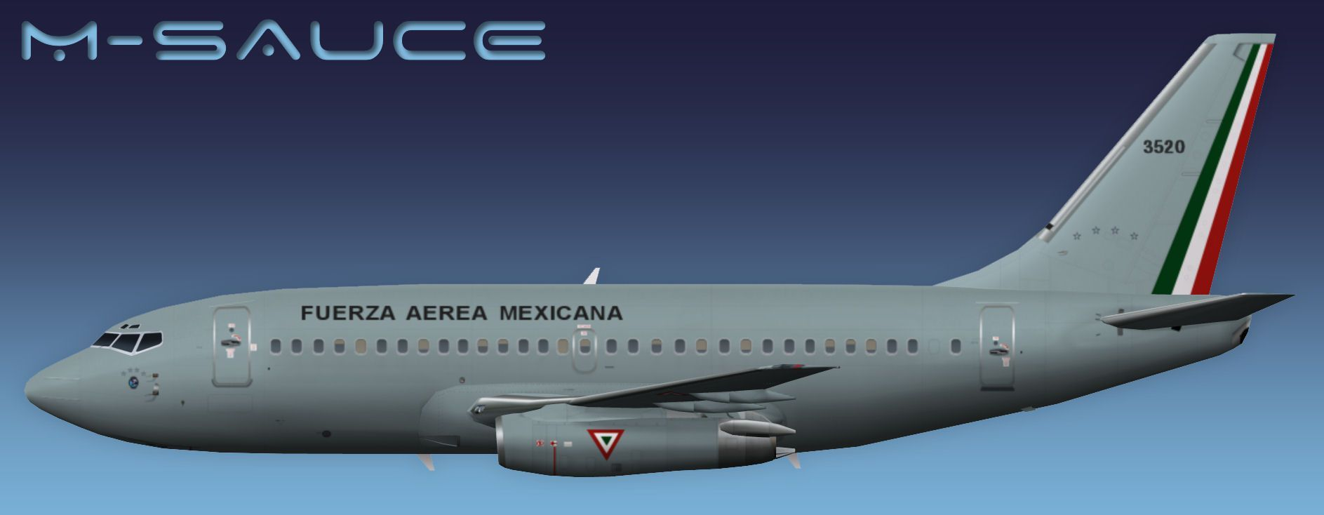 Mexican Air Force Boeing 737-200 for FSX | FAM | Aircraft
