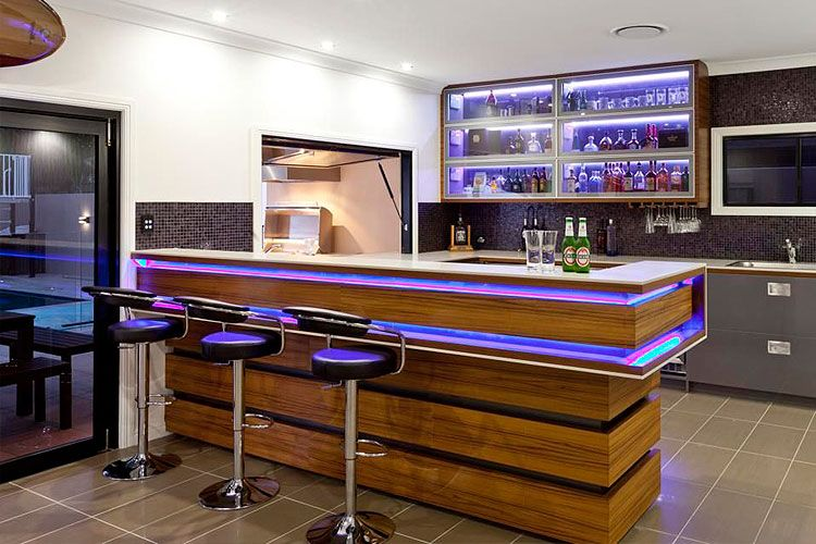 Ideas para instalar un bar en casa decofilia bar pinterest bar barra bar and basements - Barras bar casa ...