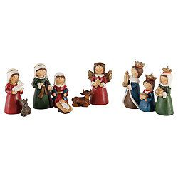 Cute Tesco Ornament Nativity Scene | Nativity scene ...