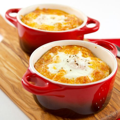 Photo of Baked Eggs with Homemade Sausage and Grits – Evil Shenanigans
