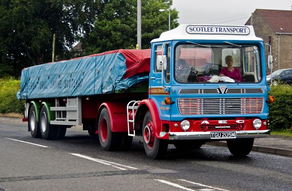 1973 Aec Mandator Tgu205m With Images Old Lorries Classic