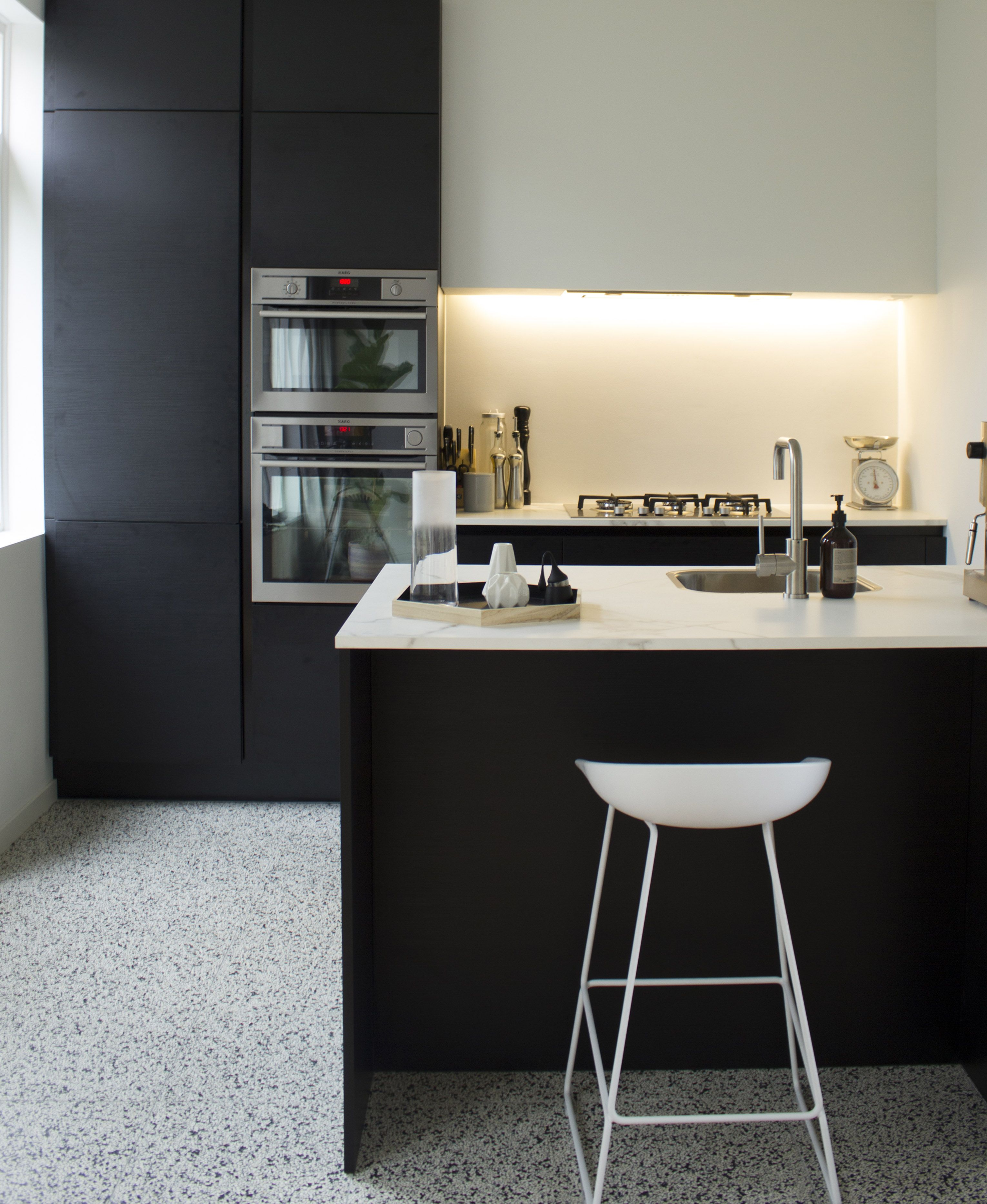 Nice lil\' kitchen by Monica Straathof ft our CP 1204 Amsterdam ...