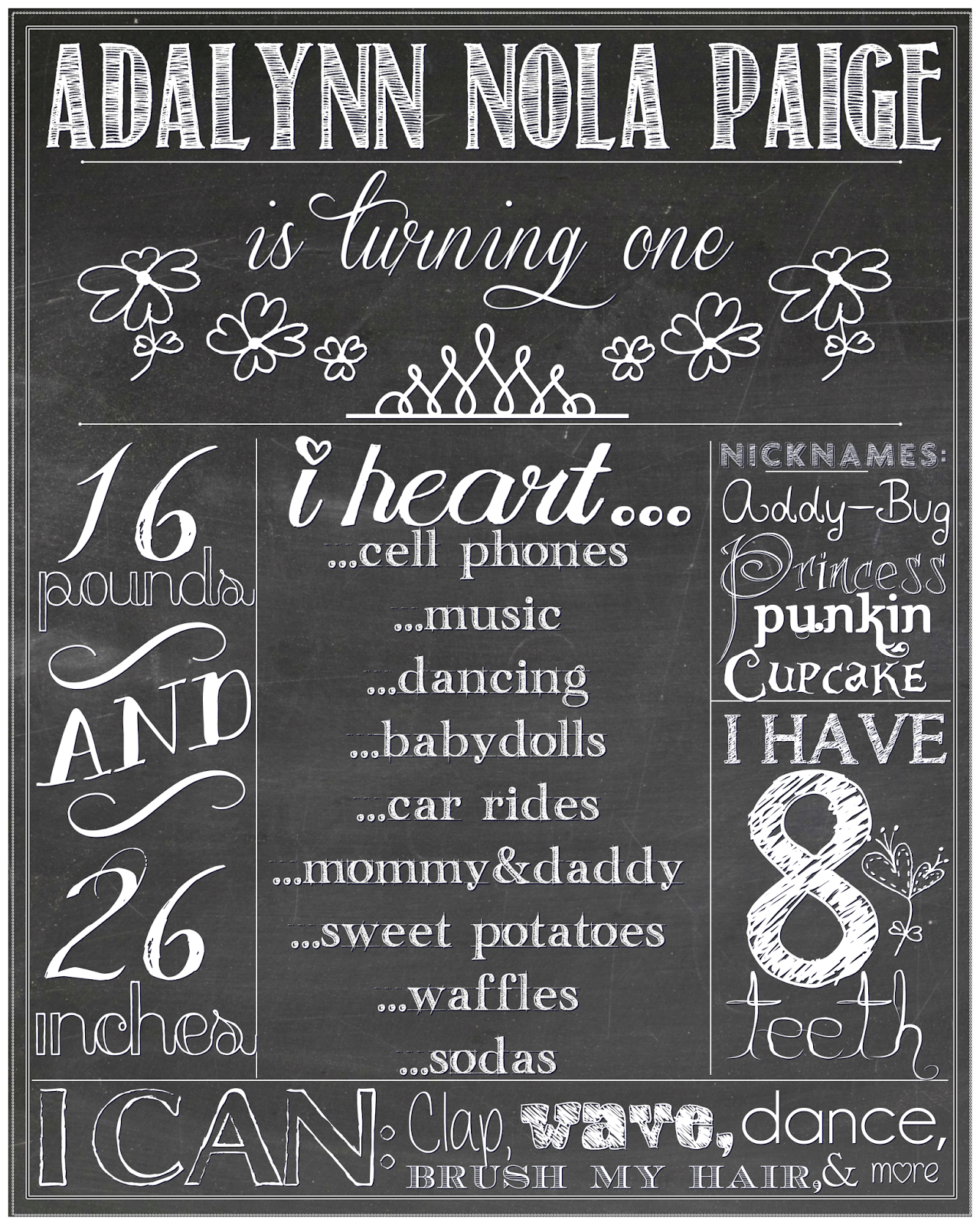 graphic relating to Printable Chalkboard Signs identify Running a blog Momma Barbie: Printable Chalkboard Signal Information