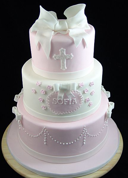 First Communion Cake For Girl Communioncake Christeningcake Our