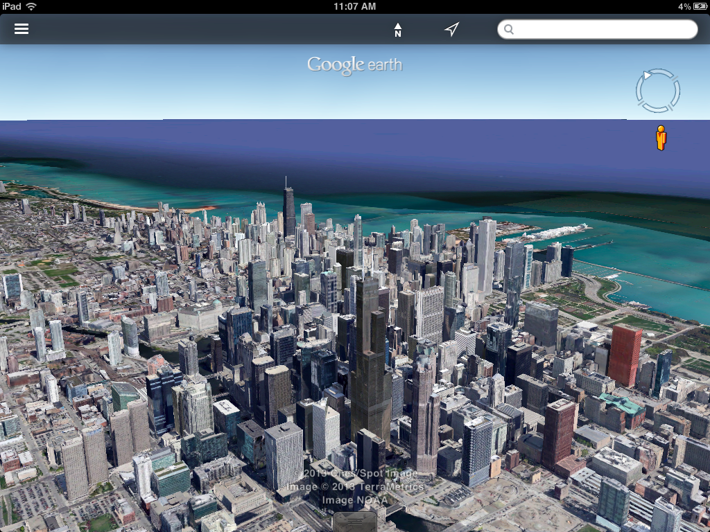 google earth for ios updated adds street view support better search and more