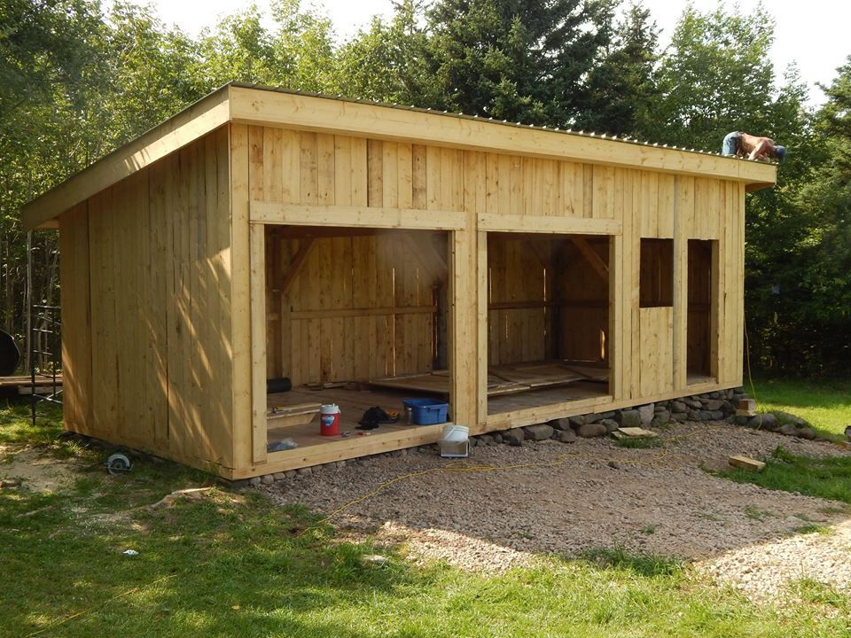 Outbuilding Potential To Add Solar Panels To Roof In