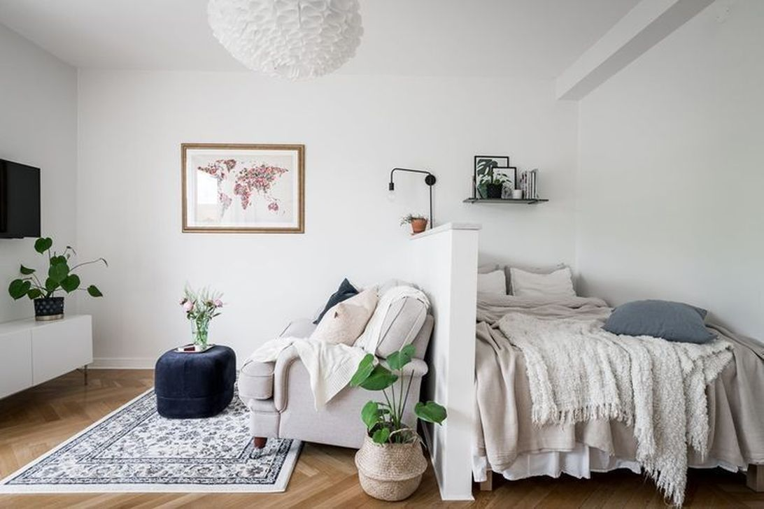 The Best Small Studio Apartment Decor Ideas To Be More Effective
