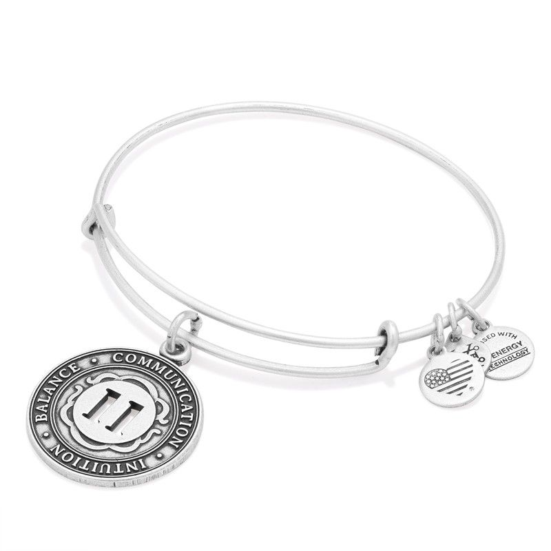 Intuition Balance Communication My Life Path Number Is 11 Bangle Bracelets With Charms Charm Bangle Charm Bracelet