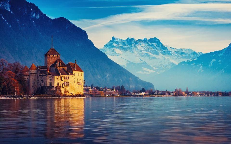 El Lago Ginebra En Suiza Paisaje Geografico Lugares Hermosos Inspiración Para Viajes